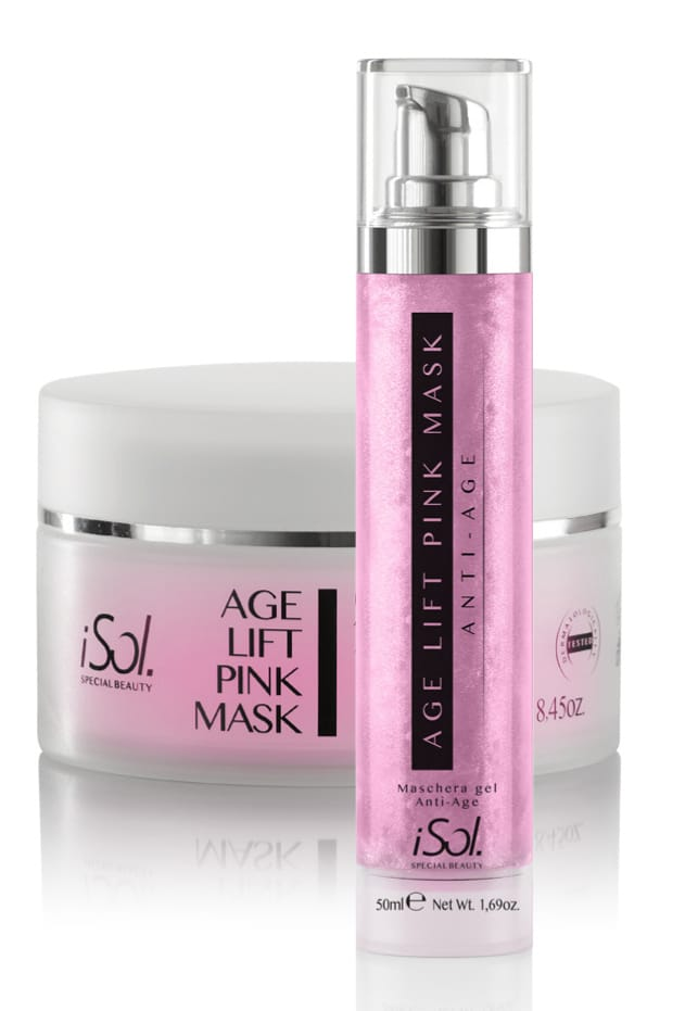 50 ml Dispenser iSol Maske Pink