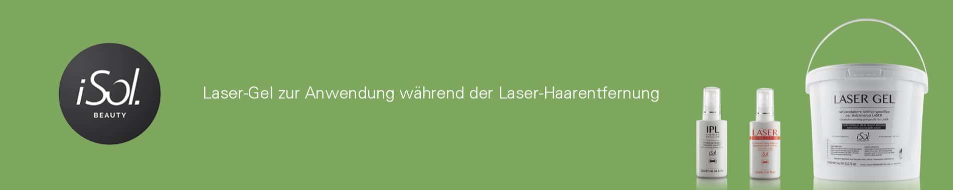 iSol Beauty Laser Kontakt Gel dauerhafte Haarentfernung