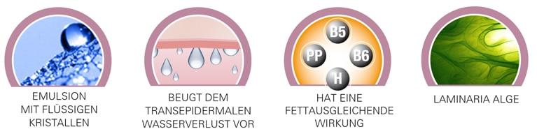 Eigenschaften der iSol Pure Rebalance Crystal Cream