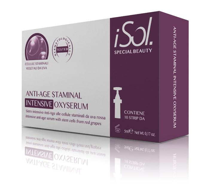 Anti Aging Serum in Ampullen mit Stammzellen