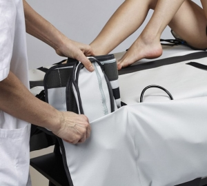 Elektronische Lymphdrainage Seitentaschen