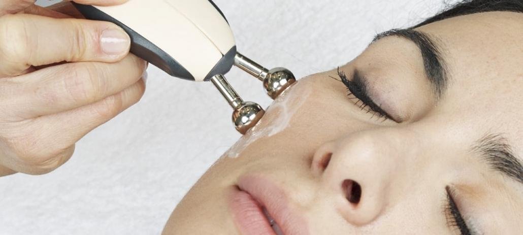 Behandlungsbild Elektrostimulanz Gesicht