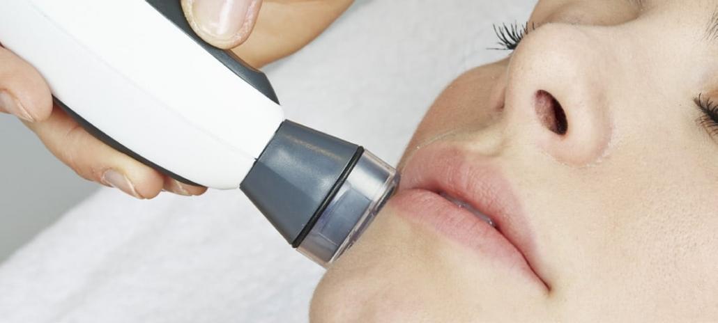 Kosmetikgerät für die endodermische Massage im Studio