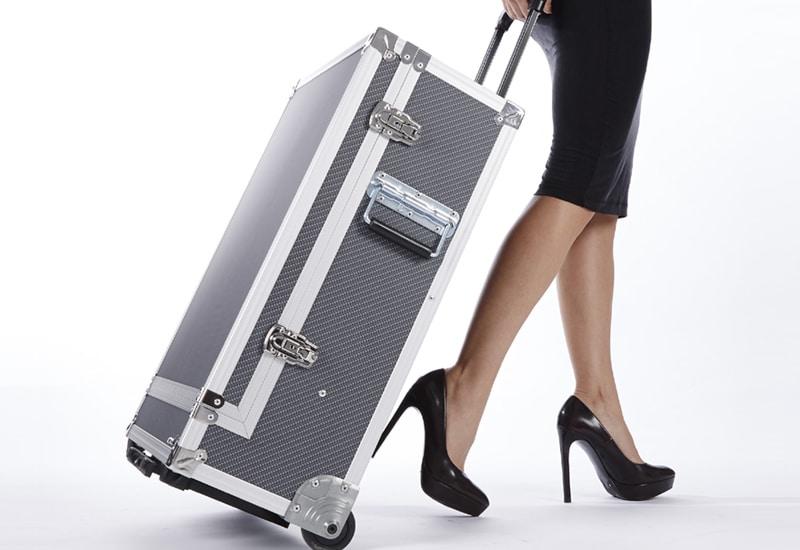 dauerhafte Haarentfernung Diodenlaser mobiles Koffergerät