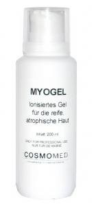 Myogel Cosmeceutical zum Einschleusen mit Iontophorese