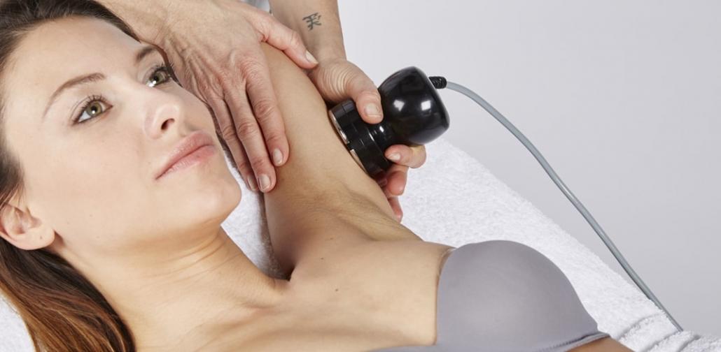 Kosmetikgerät für bipolare Radiofrequenz Behandlung