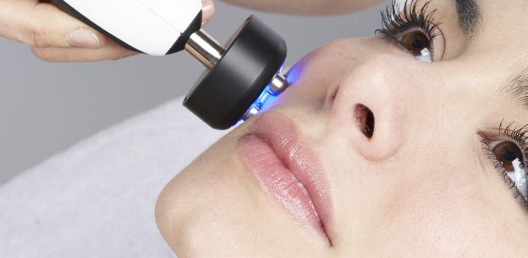 Kosmetikgerät tetrapolare Radiofrequenz Gesicht