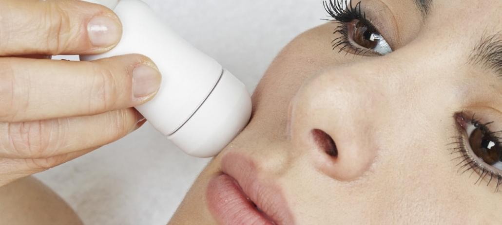 Einschleusen von Cosmeceutical mit Elektroporation