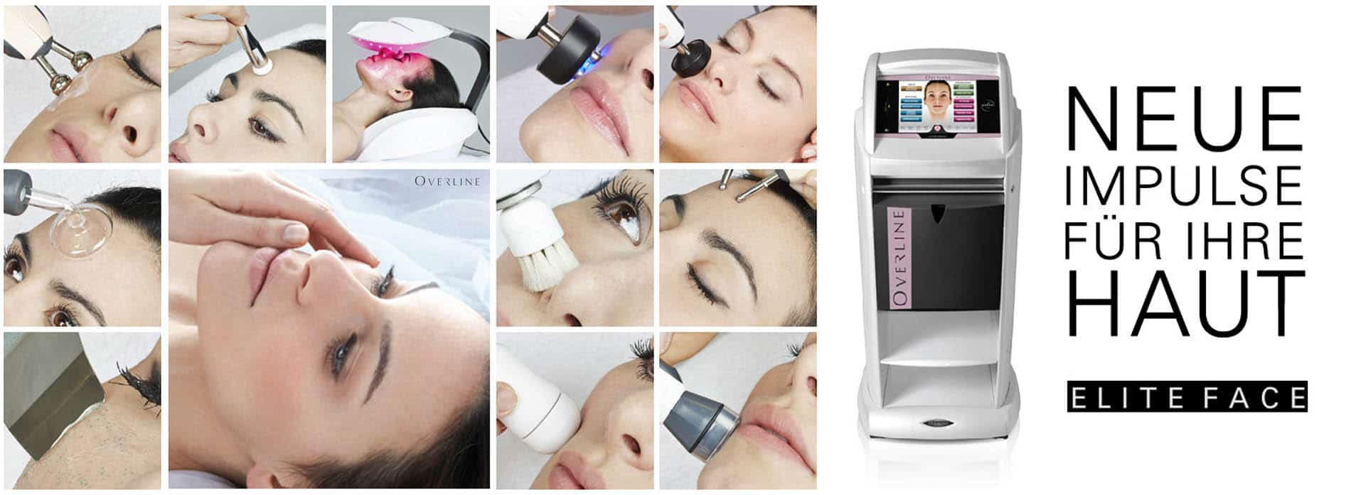 Anti Aging Multifunktionsgerät Elite Face, Radiofrequenz, Dermabrasion