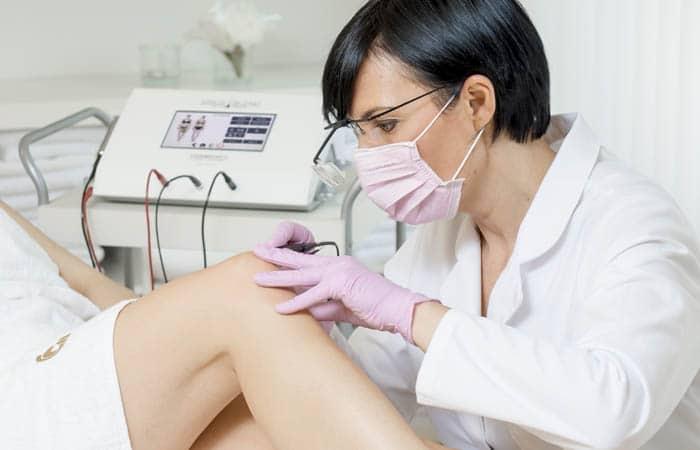 Schnelle und effektive Haarentfernung mit der Elektroepilation Sinus-Blend.