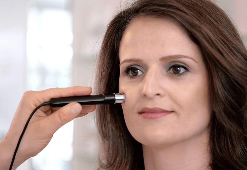 Skinomat Hautanalysegerät Messung Feuchtigkeit