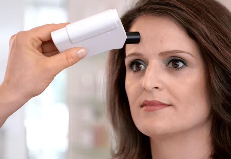 Skinomat Hautanalysegerät Messung Hautfett