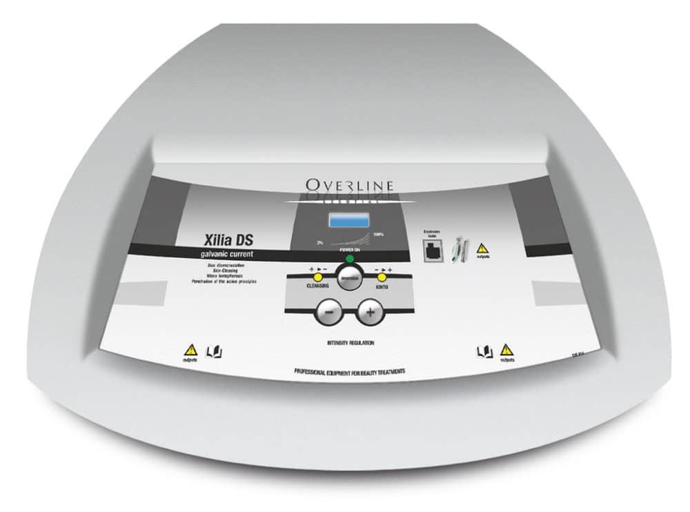 Professionelles Kosmetikgerät für das Einschleusen von Cosmeceuticals mittels Iontophorese