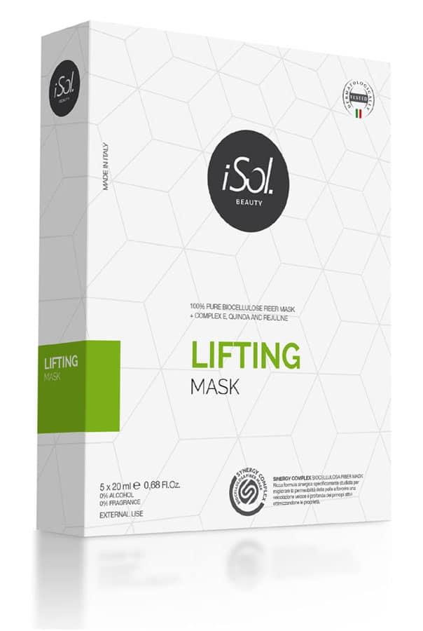 Box mit 5x20 ml Lifting Maske aus Biocellulose
