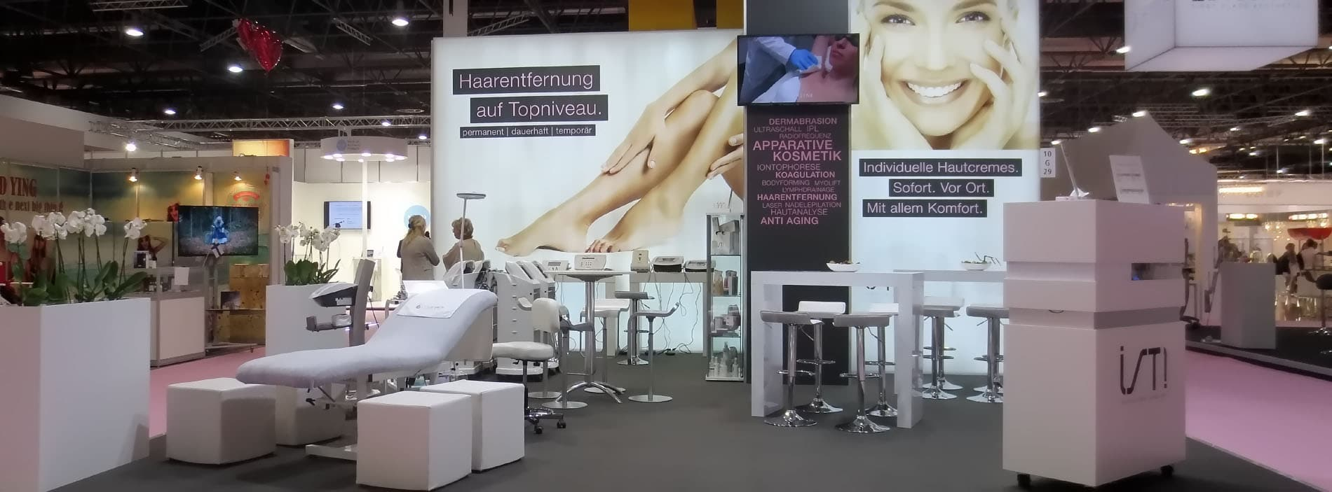 Cosmomed Medical Beauty GmbH auf der Beauty Düsseldorf 2018