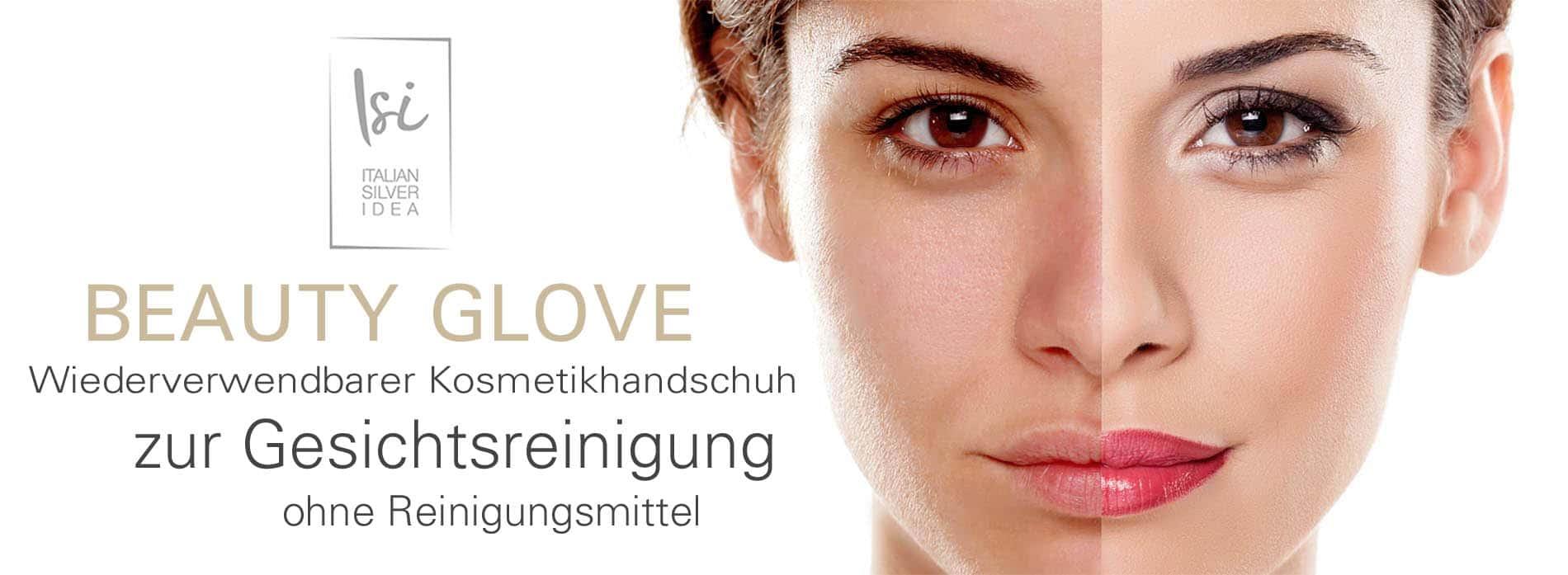 Der erste wiederverwendbare Kosmetikhandschuh, der keine Reinigungsmittel benötigt