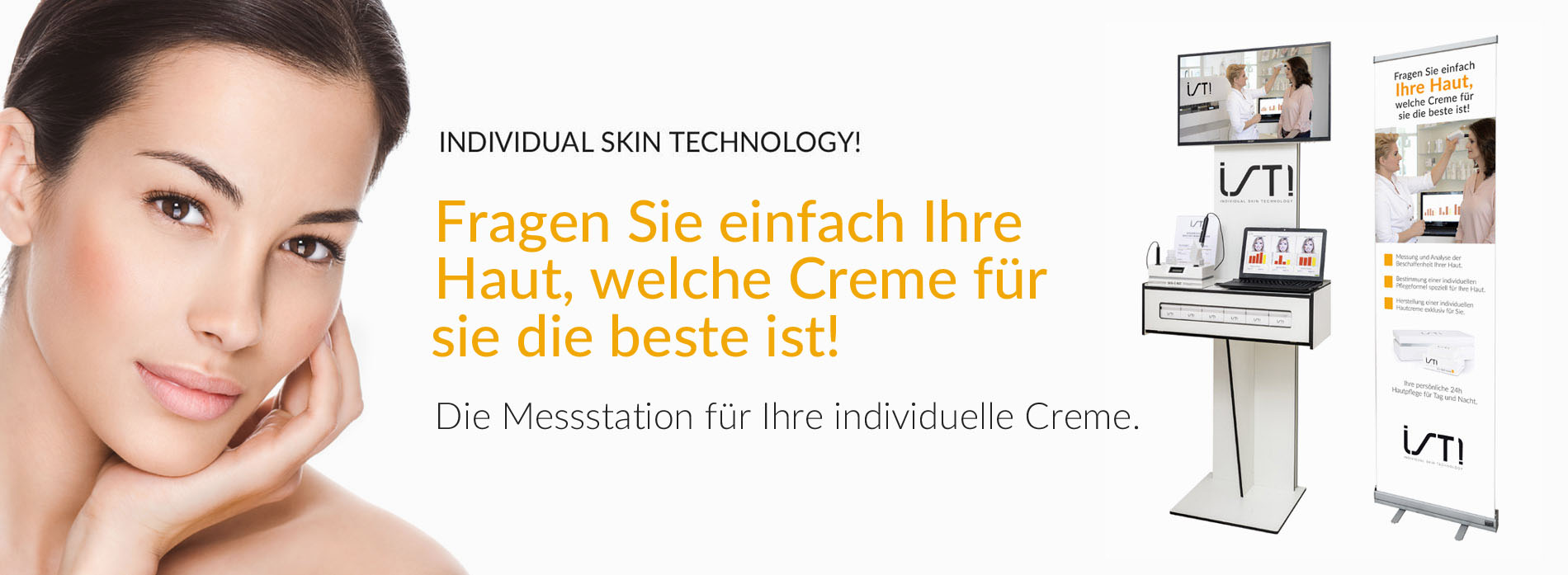 Hautanalyse für die Herstellung individueller Hautpflegecremes