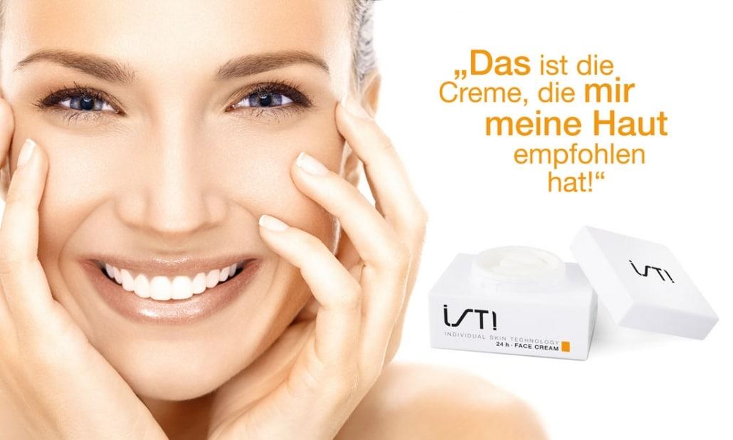 Individuelle Hautpflege und Cremes