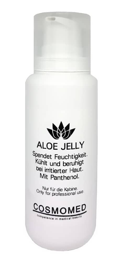 Aloe Vera gel zur Beruhigung irritierte Haut