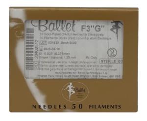 sterile Epilationsnadeln von Ballet
