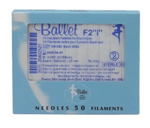 Sterile Epilationsnadeln für die Haarentfernung mit der Nadel