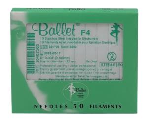 Sterile Einwegnadeln von Ballet für die Nadelepilation