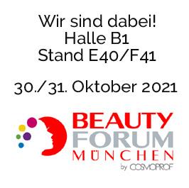 Cosmomed auf der Messe Beauty 2021 in München